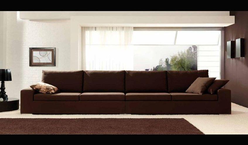Sofá 4 plazas moderno y pequeño