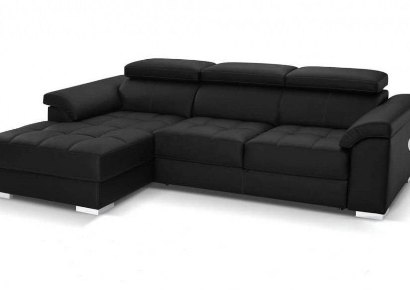 Sofá cama de piel 4 plazas