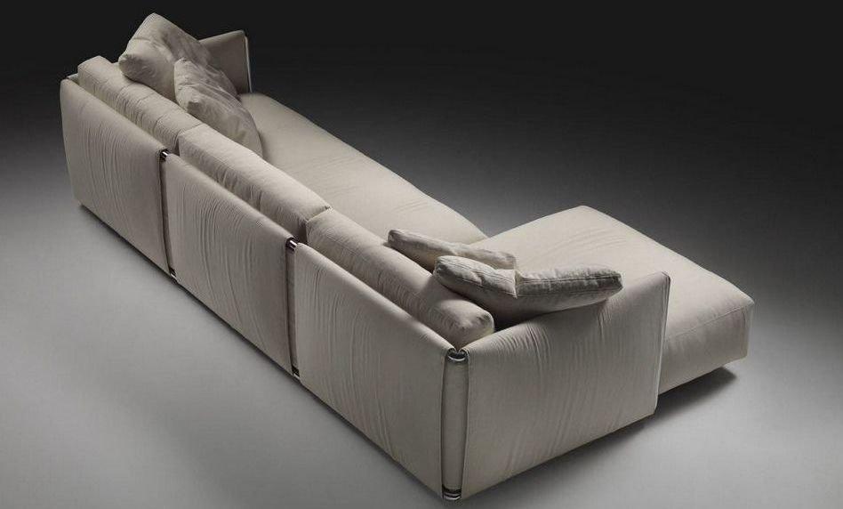 Sofá de 4 plazas barato tapizado en tela