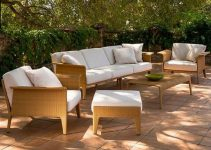 Sofá de jardín de 4 plazas Aventino