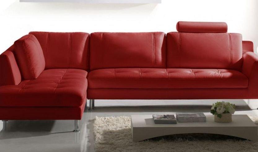 Sofá de piel 4 plazas de diseño