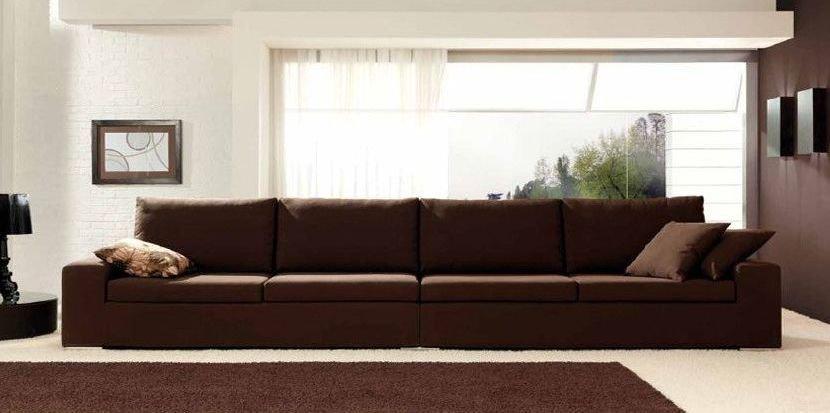 Sofá de piel 4 plazas precio rebajado