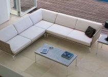 Sofá modular de Chaise Longue 4 plazas