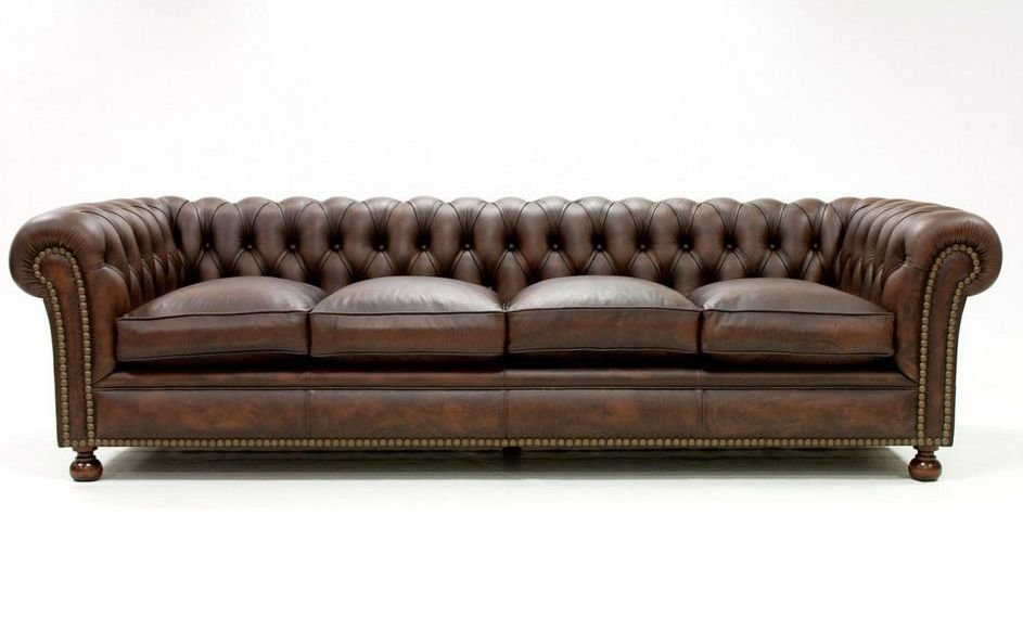 Sof s 4 plazas de piel for Ofertas de sofas en piel