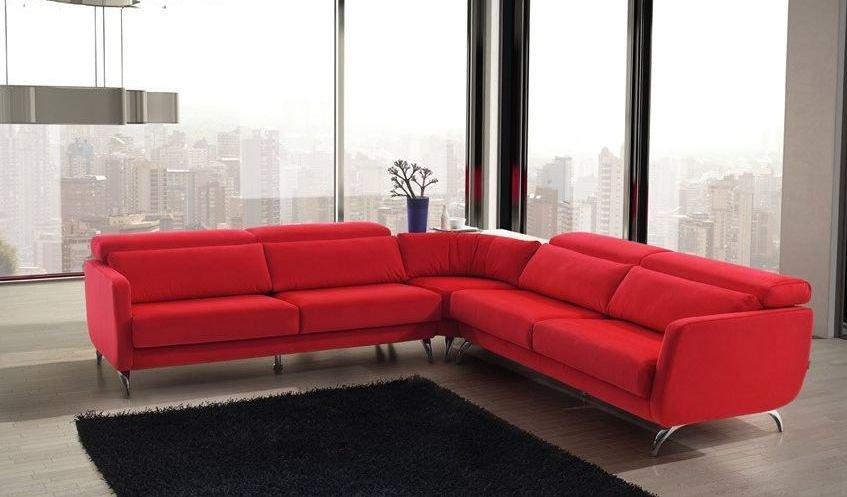 Venta de sofá rinconero 4 plazas de tela
